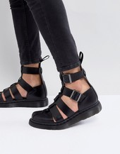 Dr Martens Geraldo Ankle Strap Sandals In Black