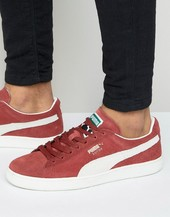 Puma Suede Classic + Trainers In Red 35263475