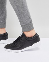 Reebok Workout Lo Clean Id Trainers In Black Bs9830