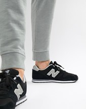 New Balance Modern Classic 373 Trainers In Black Ml373gre