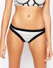 Bikini Lab Hollogram Skimpy Bikini Bottoms-multi