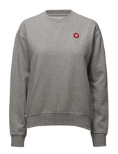 Jess Sweatshirt Sweat-shirt Genser Grå Wood Wood