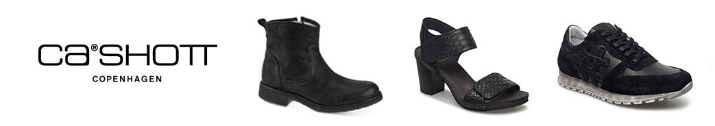 Cashott logo og sko