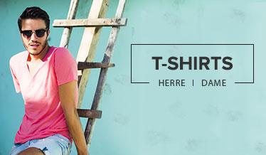 Mann i t-skjorte. t-skjorter på salg. t-shirts til sommeren