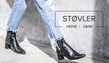 jeans og sko